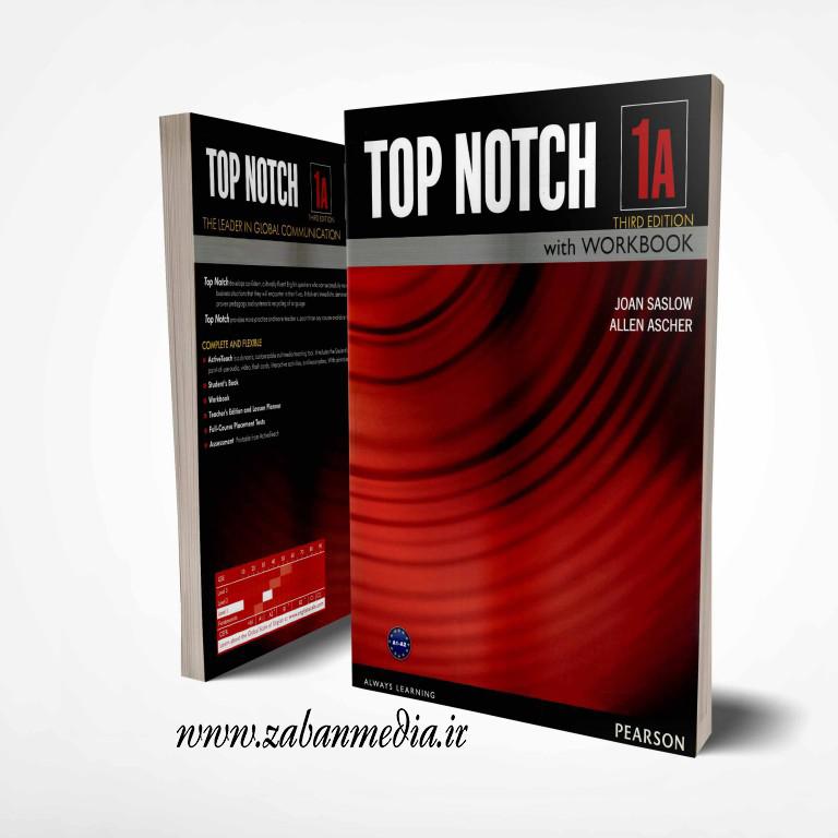 کتاب آموزشی تاپ ناچ ویرایش سوم Top Notch 1A (3rd)