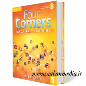 کتاب آموزش زبان بزرگسالان Four Corners 1 Collection