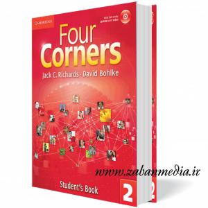 کتاب آموزش زبان بزرگسالان Four Corners 2 Collection