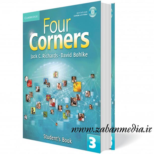 کتاب آموزش زبان بزرگسالان Four Corners 3 Collection