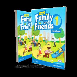 کتاب American Family and Friends 1