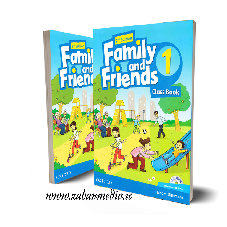 کتاب American Family and Friends 1
