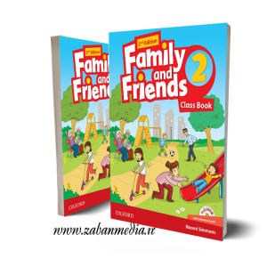 کتاب American Family and Friends 2