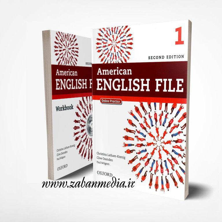 کتاب امریکن انگلیش فایل ویرایش دوم American English File 1