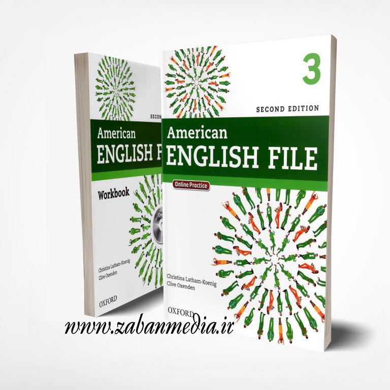 کتاب امریکن انگلیش فایل ویرایش دوم American English File 3