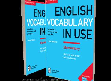 کتاب واژگان کاربردی زبان انگلیسی -English Vocabulary in Use-Elementary 3rd
