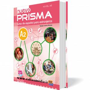 کتاب آموزش آسپانیایی Nuevo Prisma - A2 + 1CD